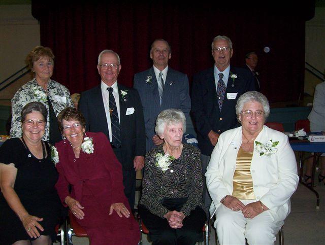 J 1 Roberta D;NicoleA;ShirleyG;AnnH;MyrnaE;JohnB;GrantB;ClarenceW;