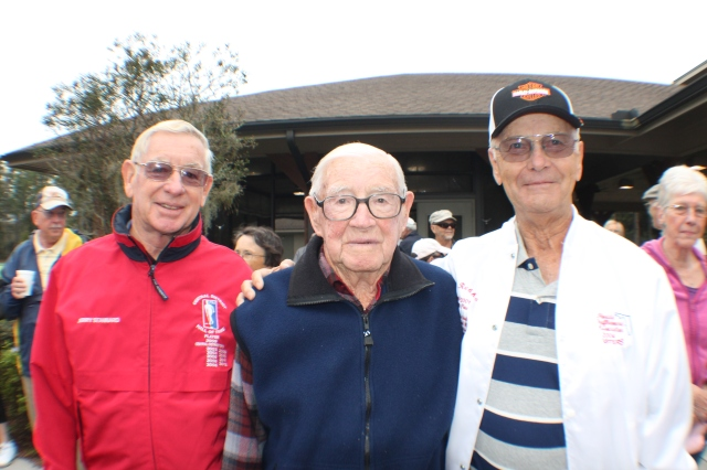 Gerry Stannard, Dad & Phil Rebholz.
