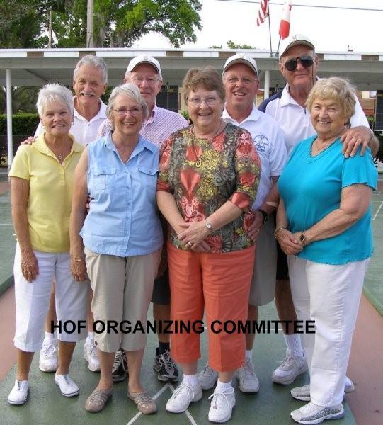 HOF ORGANIZING COMMITTEE