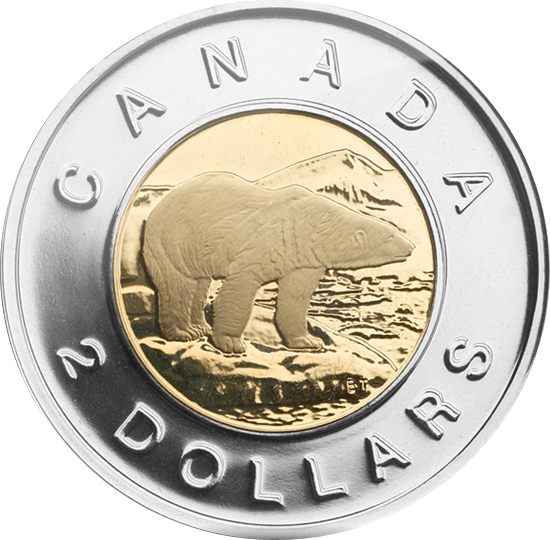 more on canadian money   we give you the  u201ctoonie u201d  the penny clip art coin penny clip art 1971