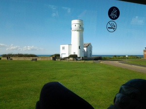 GE 13 Lighthouse at Hunstanton on the sea