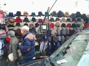 GL E Hats at Portebello Mkt