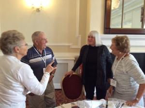 Glenna 26th Marshmans, Doris Hanke and Lesley Davis hostess