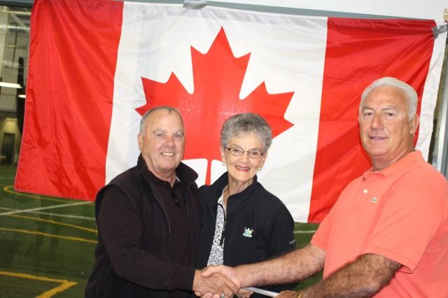 1st OPEN CH. Roy Babcock & Myrna Bilton