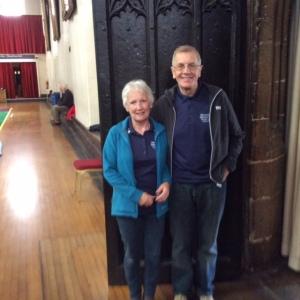 May 1st Glenys and David Cavill
