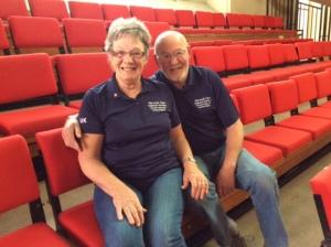 May 1st, John and Mary Harding Brits