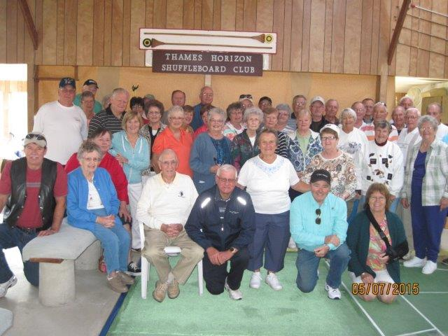 Pic of Club Members on OPENING DAY OF THE 2015 SEASON!!