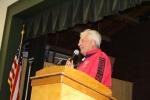 Earl at podium