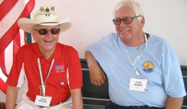 John brown and stan bober