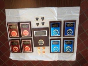 Can Am 2016 Plaques and Pins