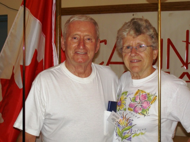 Bev and Husband (Now deceased)