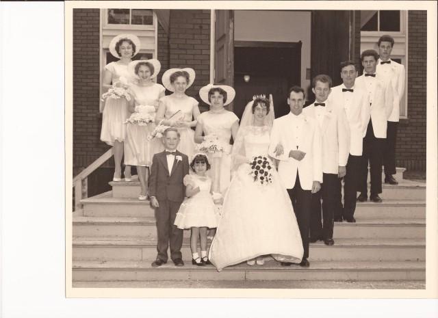 Bergs Wedding 1961