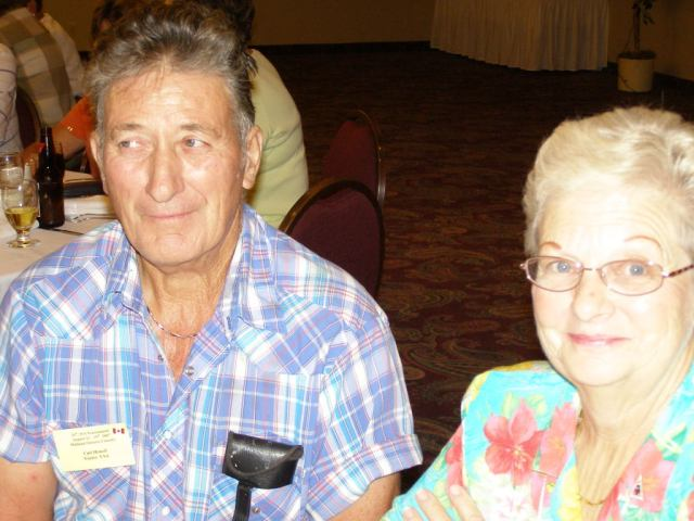 Carl and Carol won the Doubles Tournament in their age division during the Missouri State Senior Games in Hearnes City