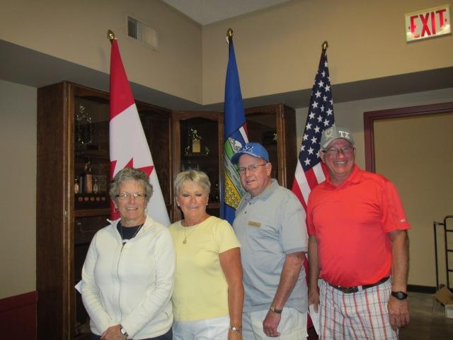 D Event: 1) Brian Bissilion, 2) Howard Rutley, 3) Lynn Bell, 4) Susan Mack