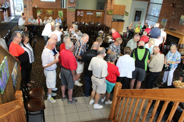 A Social Get Together was held in close proximity to the Shuffling Facility. We all gathered in the Sally Creek Golf Club and Bistro following the AGM on June 1st.