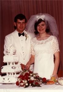 M & M Wedding Portrait