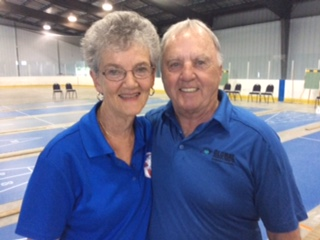 Babcock OSA HOF with partner Myrna