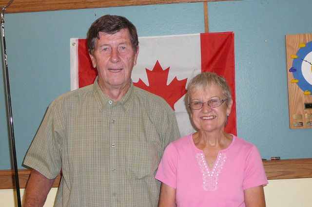 SUBMITTED Robert Graves and June Stewart, of Ramara Township, placed third in the amateur consolation during a recent Ontario Shuffleboard Association tournament hosted by the Coldwater Shuffleboard Club.