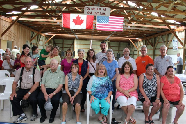 19 Direct Descendants of Alphonse and Phoebe Marchand attended the Event.