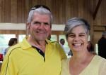 Jim C. and CEO Tania Sharpe