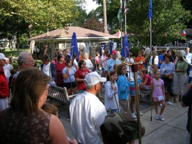 Lakeside Kids Gather in 2008 for the Junior National Tournament.