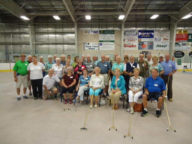 Shufflers of PEI are joined by 16 Shufflers from Dieppe New Brunswick.