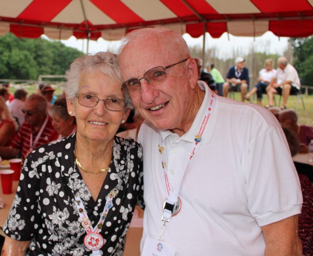 Cecile and Joe Messier Will You Look That Good When Married 67 Years??