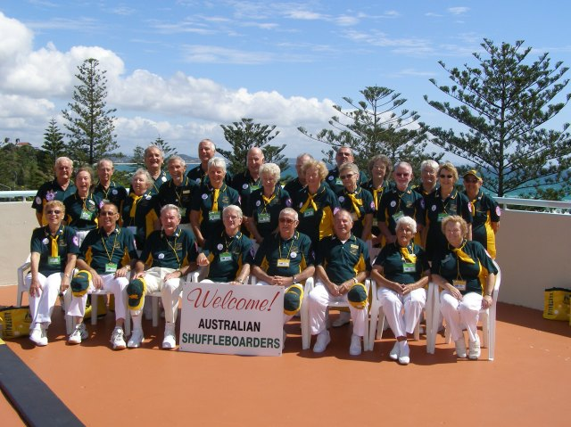 AUSTRALIAN TEAMS OF 2008 ISA IN COOLANGATTA.