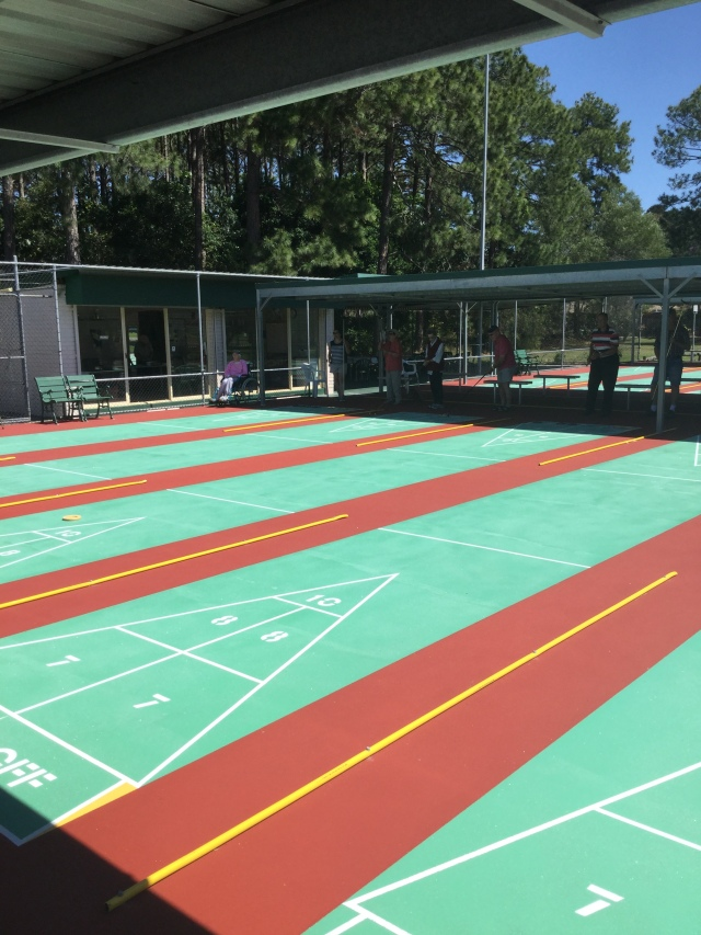 RECONSTRUCTED COURTS AT ELANORA, AUSTRALIA!