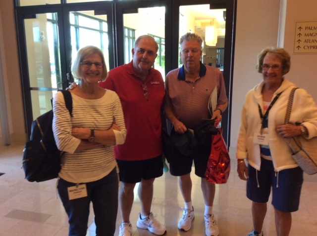 The Phifers, Rich and Marilynn, and Bill Hoyer and Doris Hanke