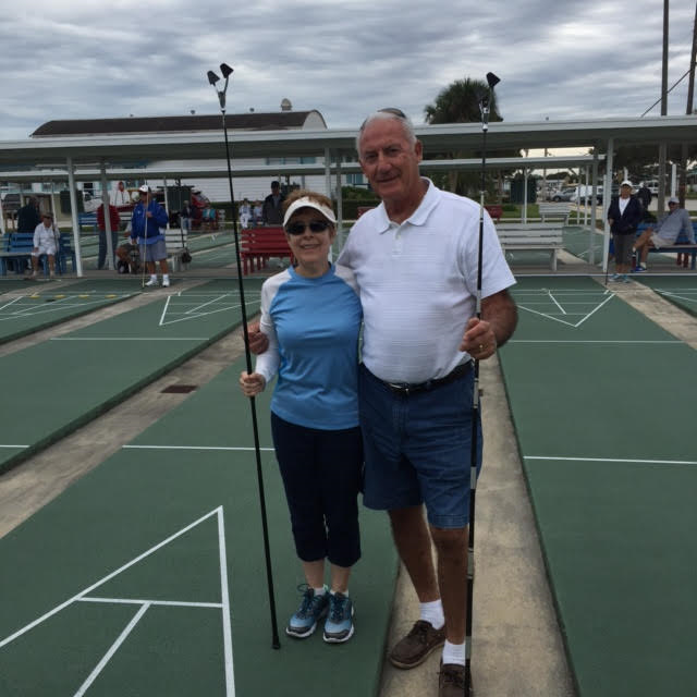 Strong and Brake defeat Ball and Marshman in the State Mixed Doubles to take 1st place. .