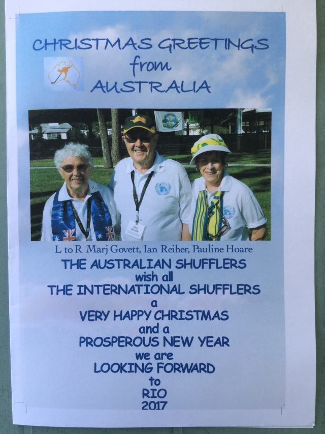 Christmas Greetings From Australia.