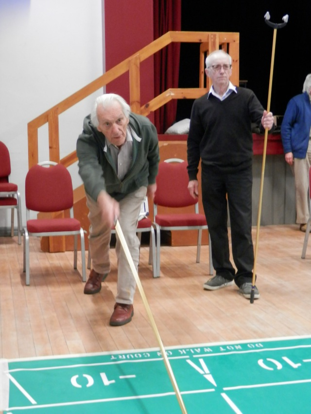 "Ernest Von Roretz Returns to Shuffleboard After a ""Short Break""!!"