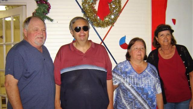 Juanita Harlow Champions! Cindy & Steve Slaughterbeck; & Dan & Marti Noble