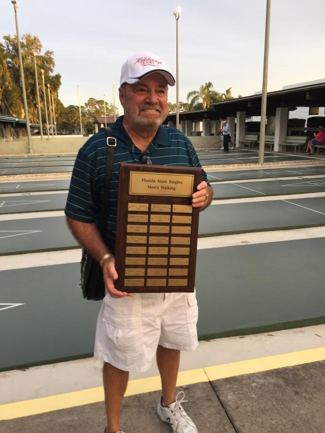 Al Dronsfield is the FSA Walking Singles Champion