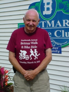 This Gentleman, Ron Howard Made John's Cross; Rev. John You Understand.