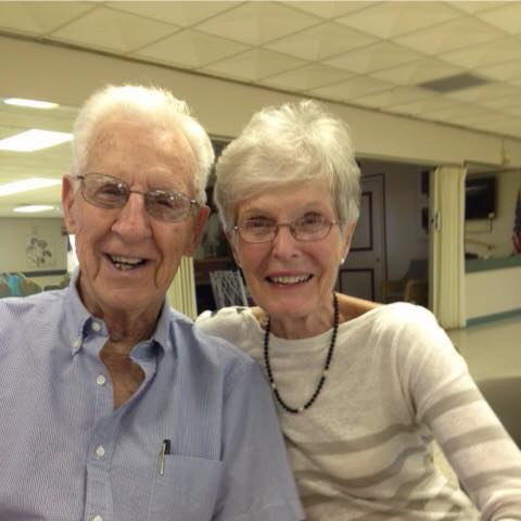 Robert and Marilyn Mitchell; Strong Supporter of Shuffleboard