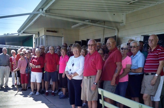Valentine's Day Participants at Sebring, FL