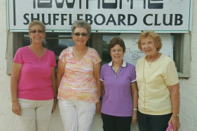 In 1st Place, on your left; Terri Smith and Sharon Upson. In 2nd, Glenda Brake and Arlene Guerrini.