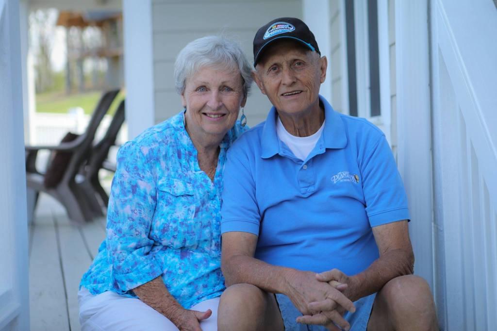 Jeanne and Dave Wegner