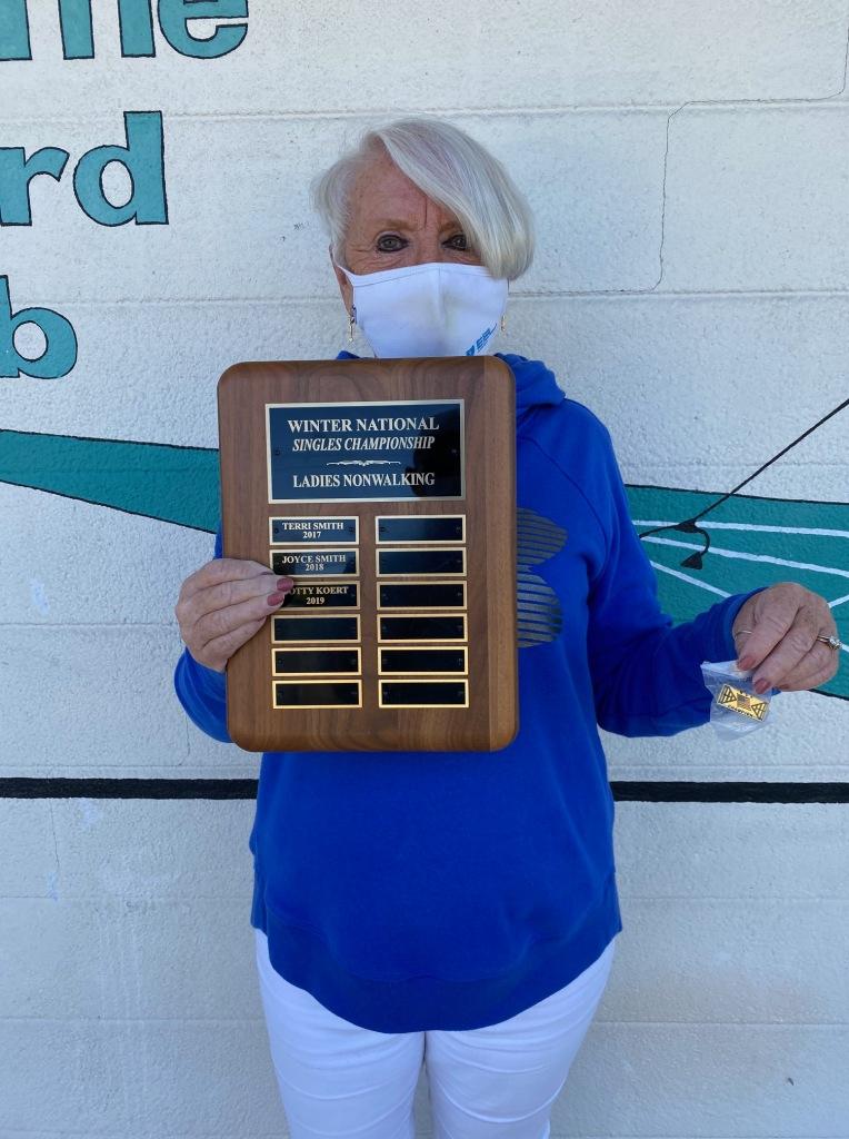 Pam Nurnberger Wins Nat. Singles